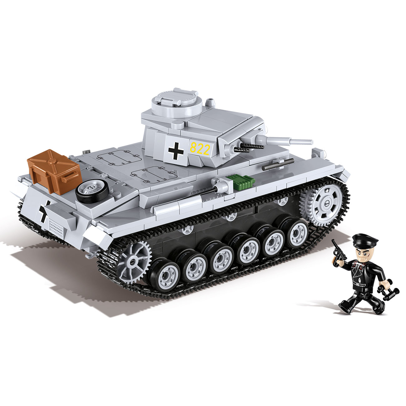 Cobi Historical Collection Bausatz Panzer III Ausf. E 470 Teile 2523 1