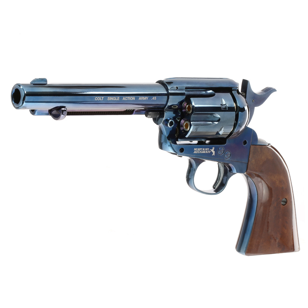 Colt Single Action Army 45 blue CO2 Revolver 4,5mm BB 1