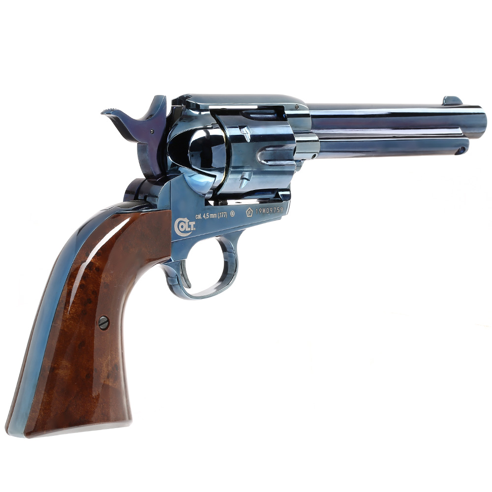 Colt Single Action Army 45 blue CO2 Revolver 4,5mm BB 2
