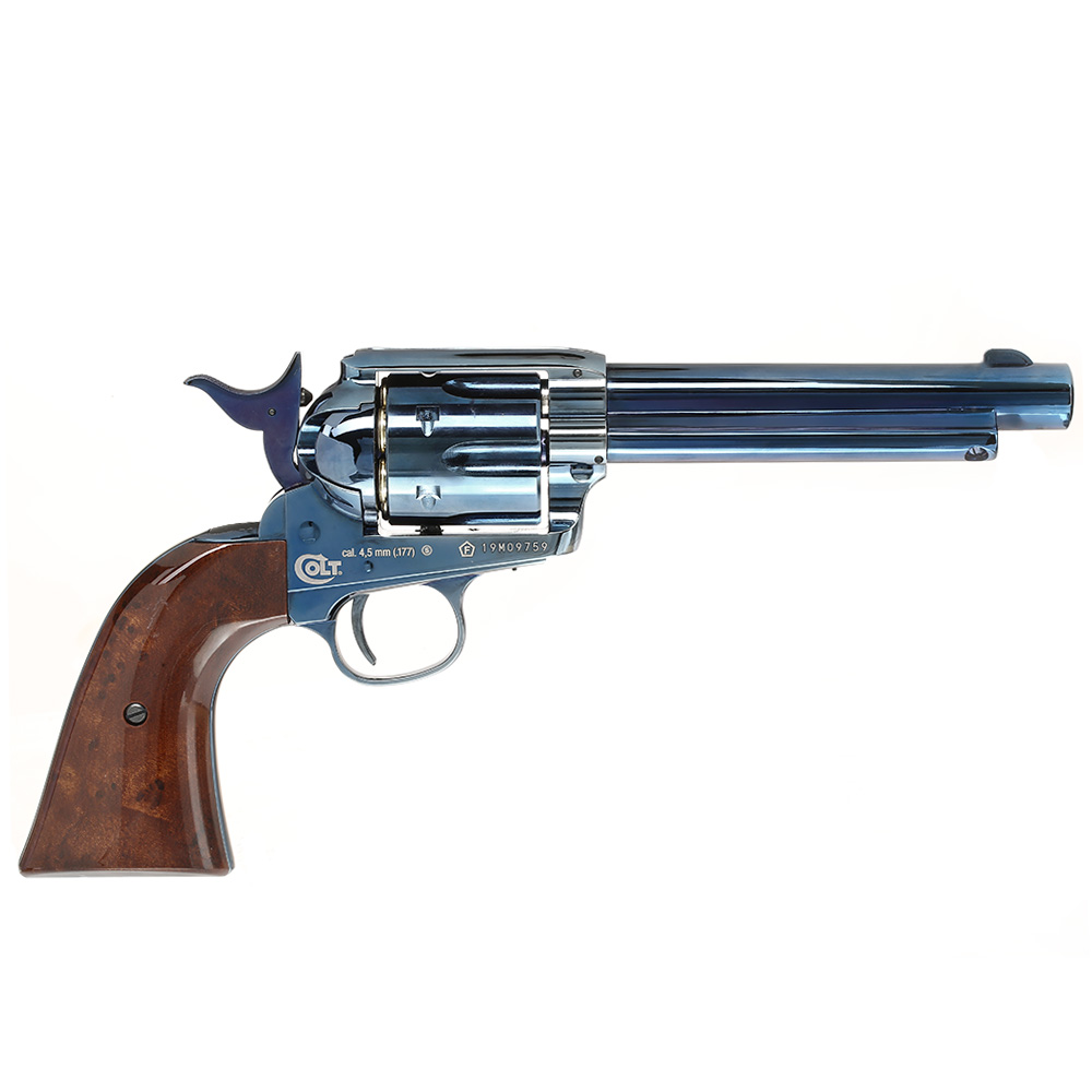Colt Single Action Army 45 blue CO2 Revolver 4,5mm BB 3