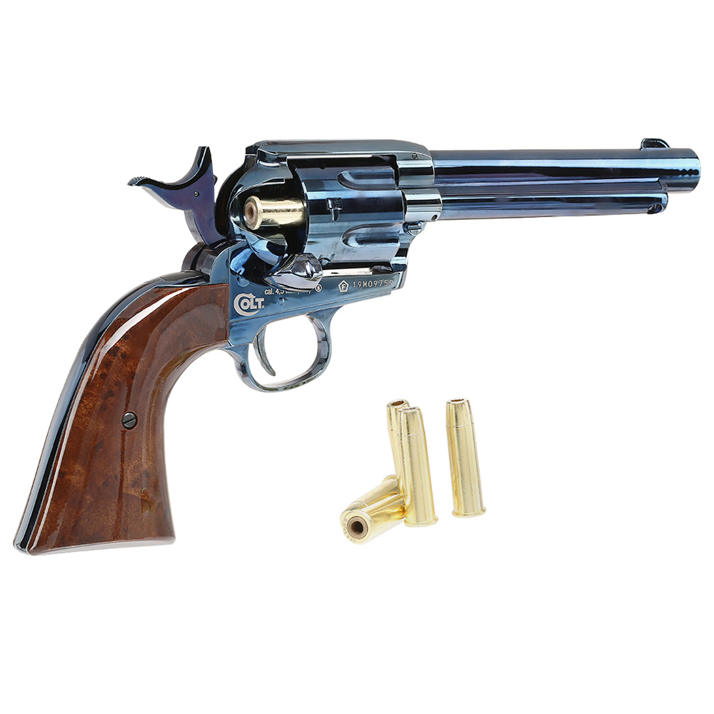 Colt Single Action Army 45 blue CO2 Revolver 4,5mm BB 4