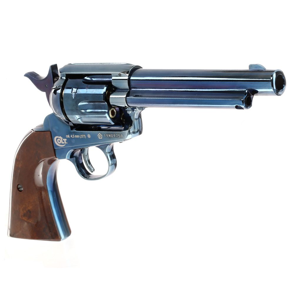 Colt Single Action Army 45 blue CO2 Revolver 4,5mm BB 5