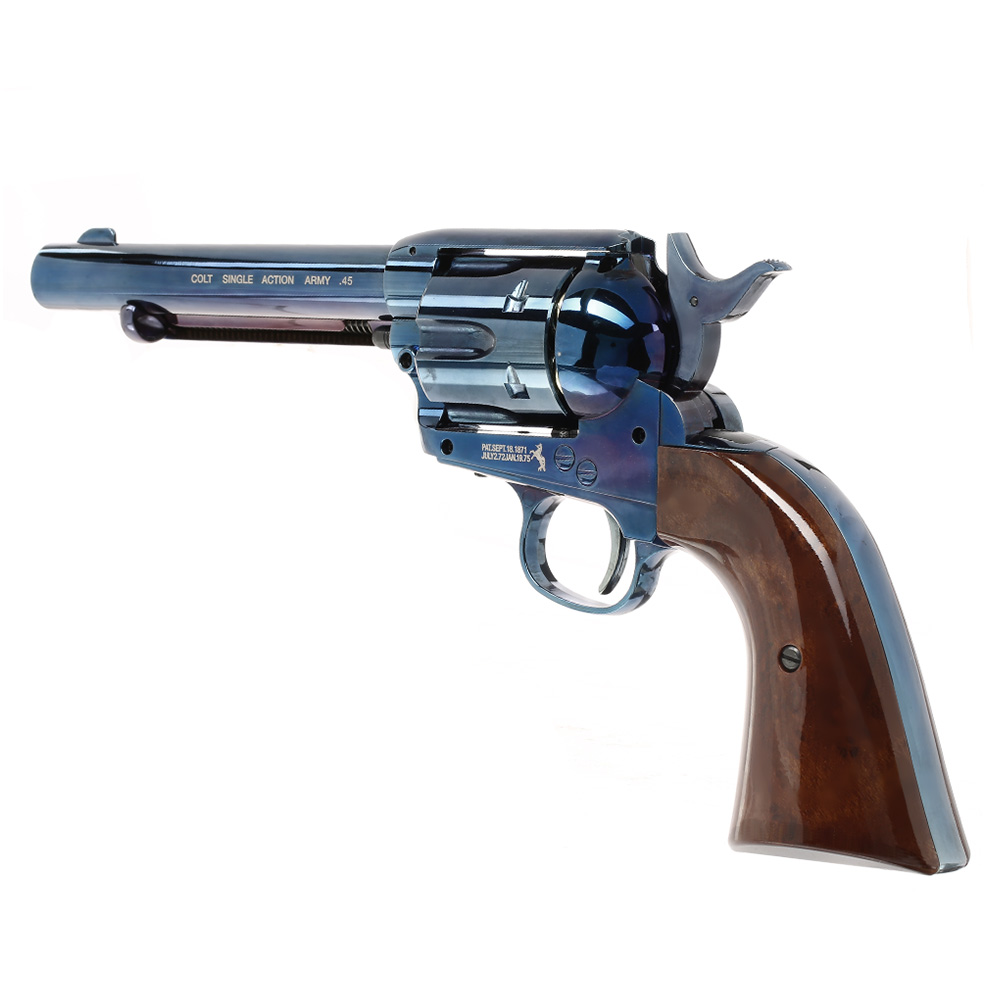 Colt Single Action Army 45 blue CO2 Revolver 4,5mm BB 7