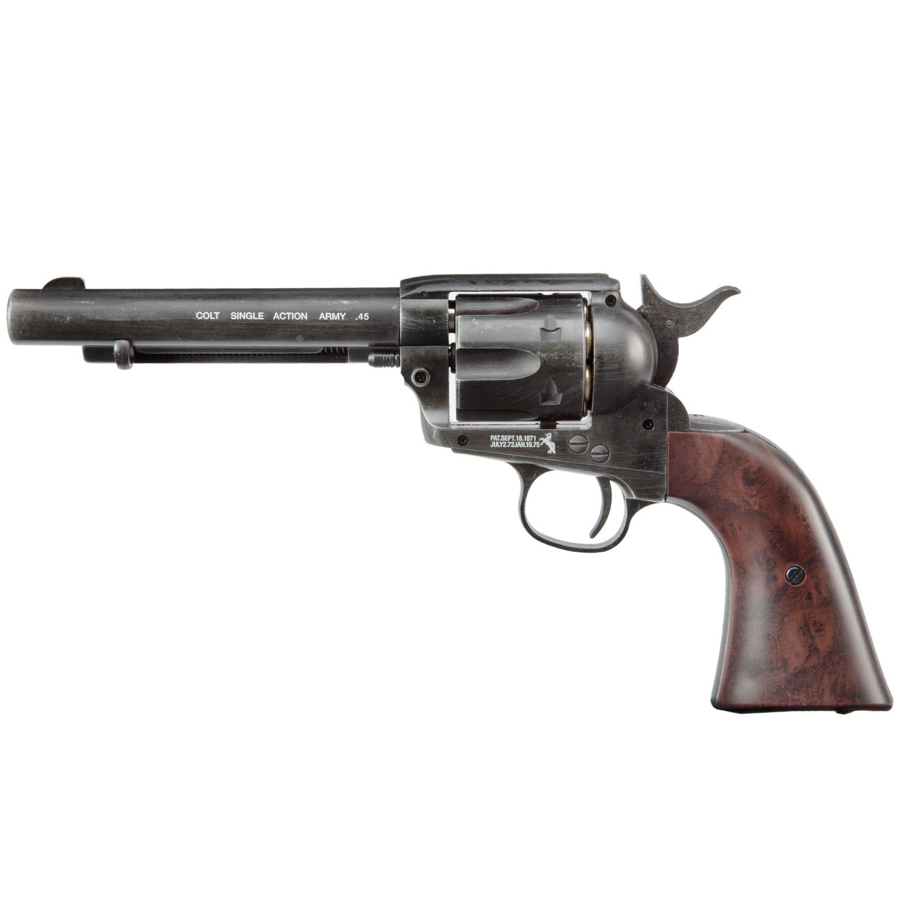 Colt Single Action Army 45 antik CO2 Revolver 4,5mm BB 0