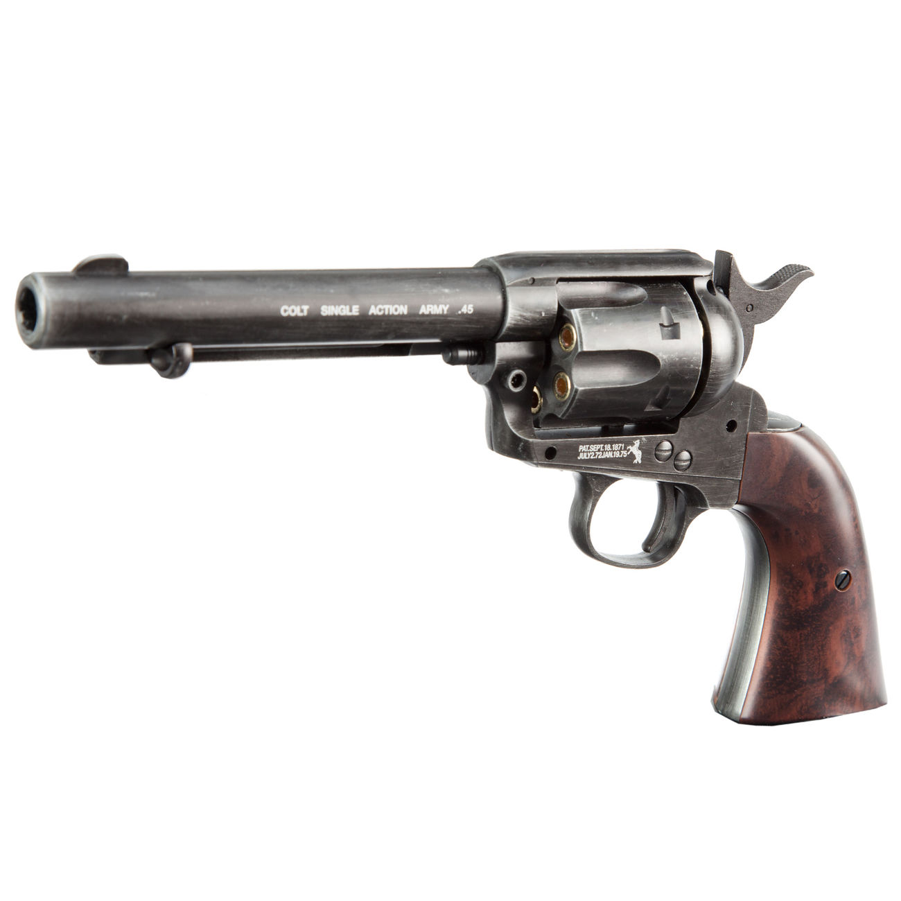 Colt Single Action Army 45 antik CO2 Revolver 4,5mm BB 1