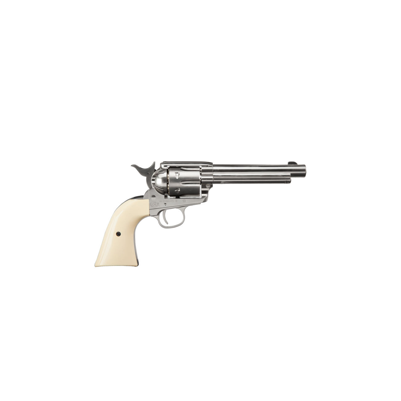 Colt Single Action Army 45 nickel CO2 Revolver 4,5mm BB 2