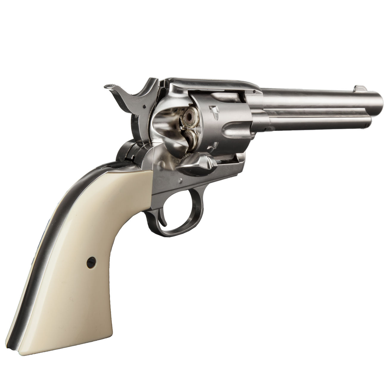 Colt Single Action Army 45 nickel CO2 Revolver 4,5mm BB 3