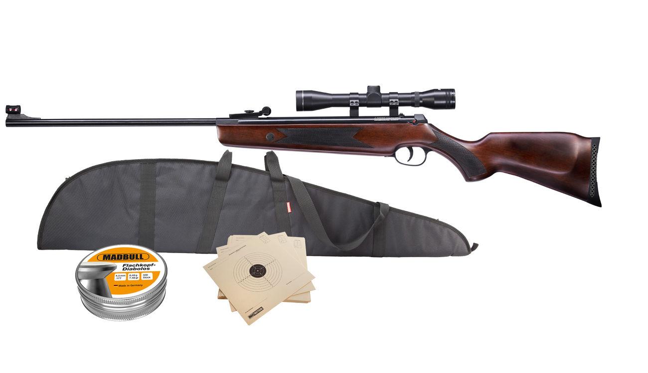 Hämmerli hunter force 600 combo luftgewehr 4 5 mm inkl. zielfernrohr