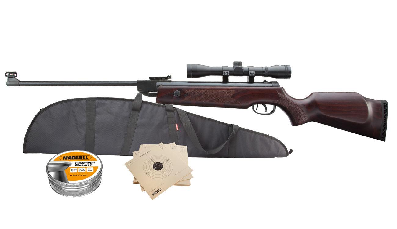 Hämmerli hunter force 750 luftgewehr 4 5 mm inkl. zielfernrohr