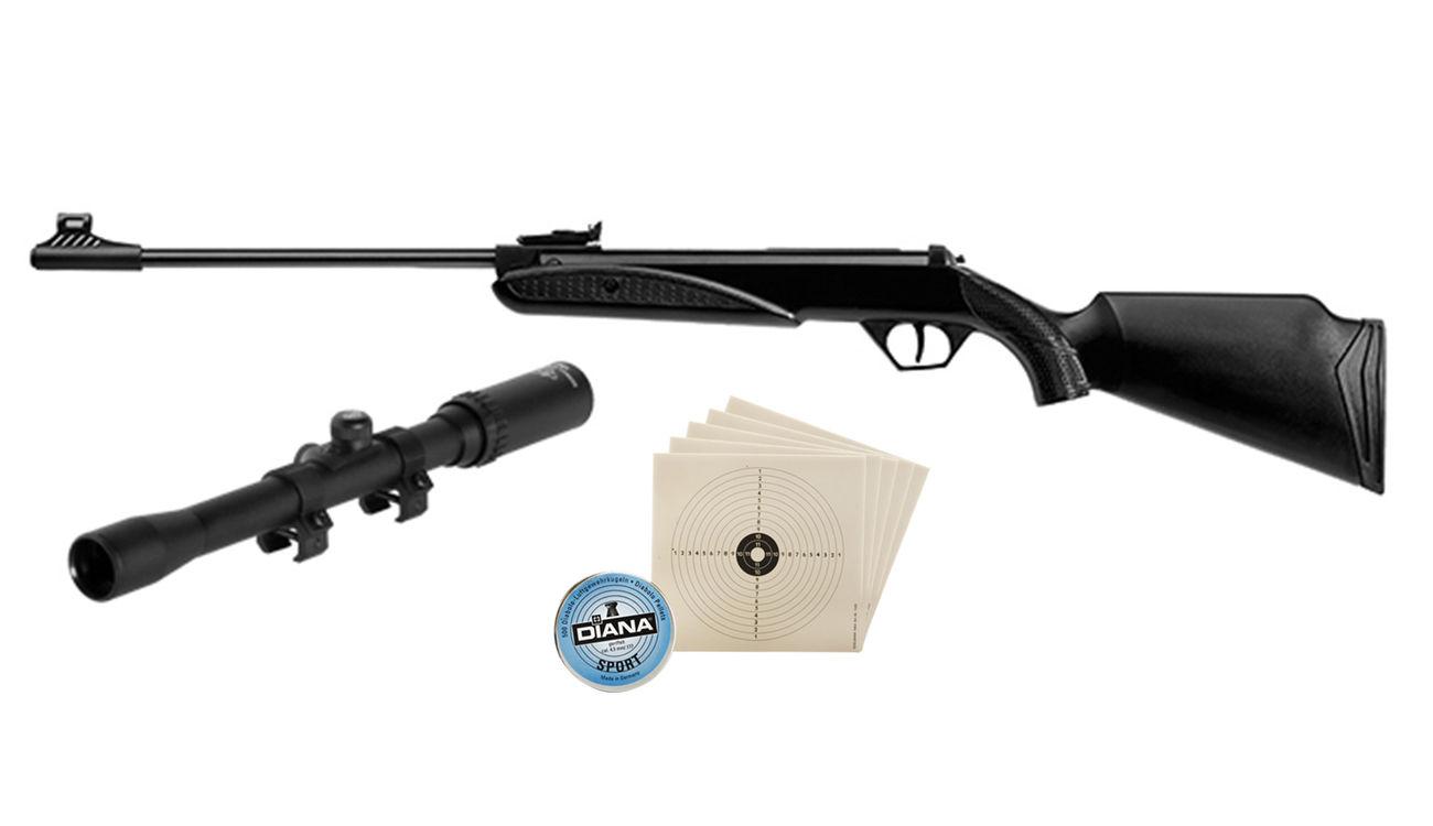 Diana panther 21 luftgewehr kal. 4 5mm set inkl. zielfernrohr
