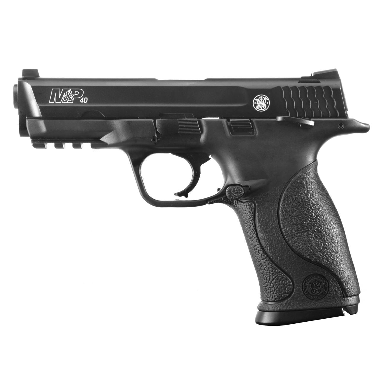Smith & Wesson M&P40 TS CO2 Luftpistole Blow Back 4,5mm Stahl BB brüniert 0
