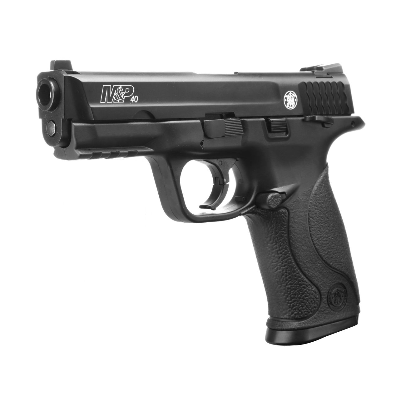 Smith & Wesson M&P40 TS CO2 Luftpistole Blow Back 4,5mm Stahl BB brüniert 1