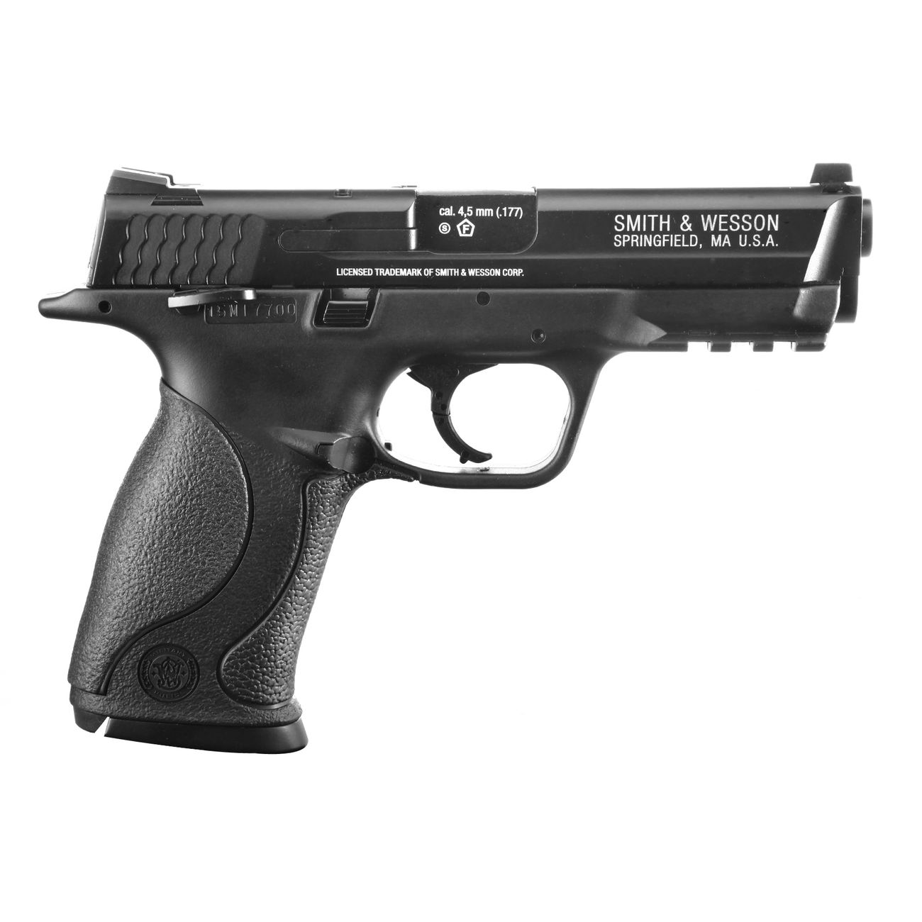 Smith & Wesson M&P40 TS CO2 Luftpistole Blow Back 4,5mm Stahl BB brüniert 2