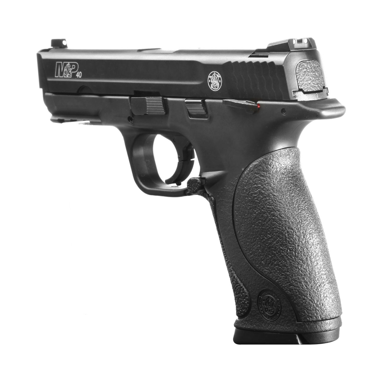 Smith & Wesson M&P40 TS CO2 Luftpistole Blow Back 4,5mm Stahl BB brüniert 3
