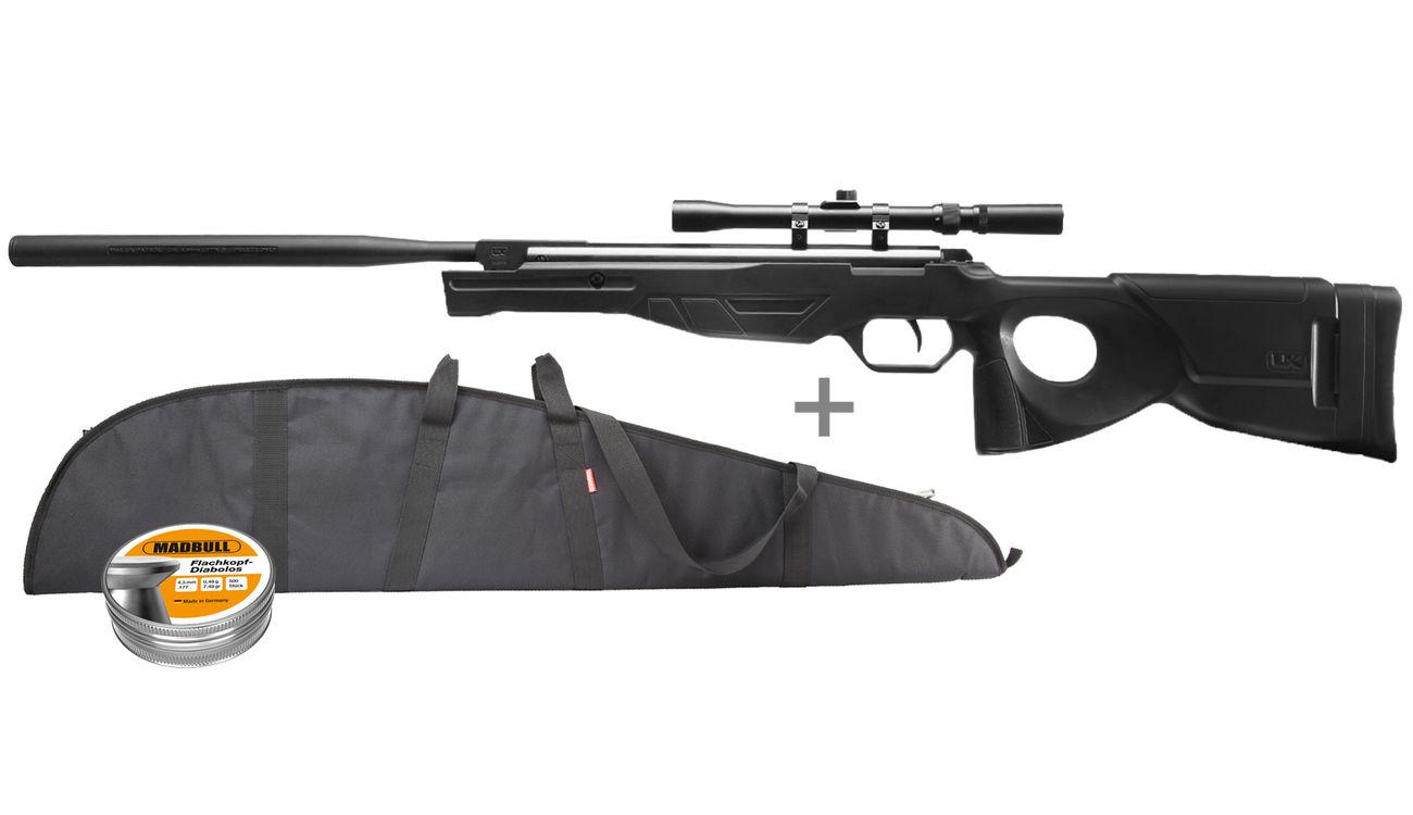 Umarex patrol luftgewehr kal. 4 5mm diabolo inkl. zielfernrohr
