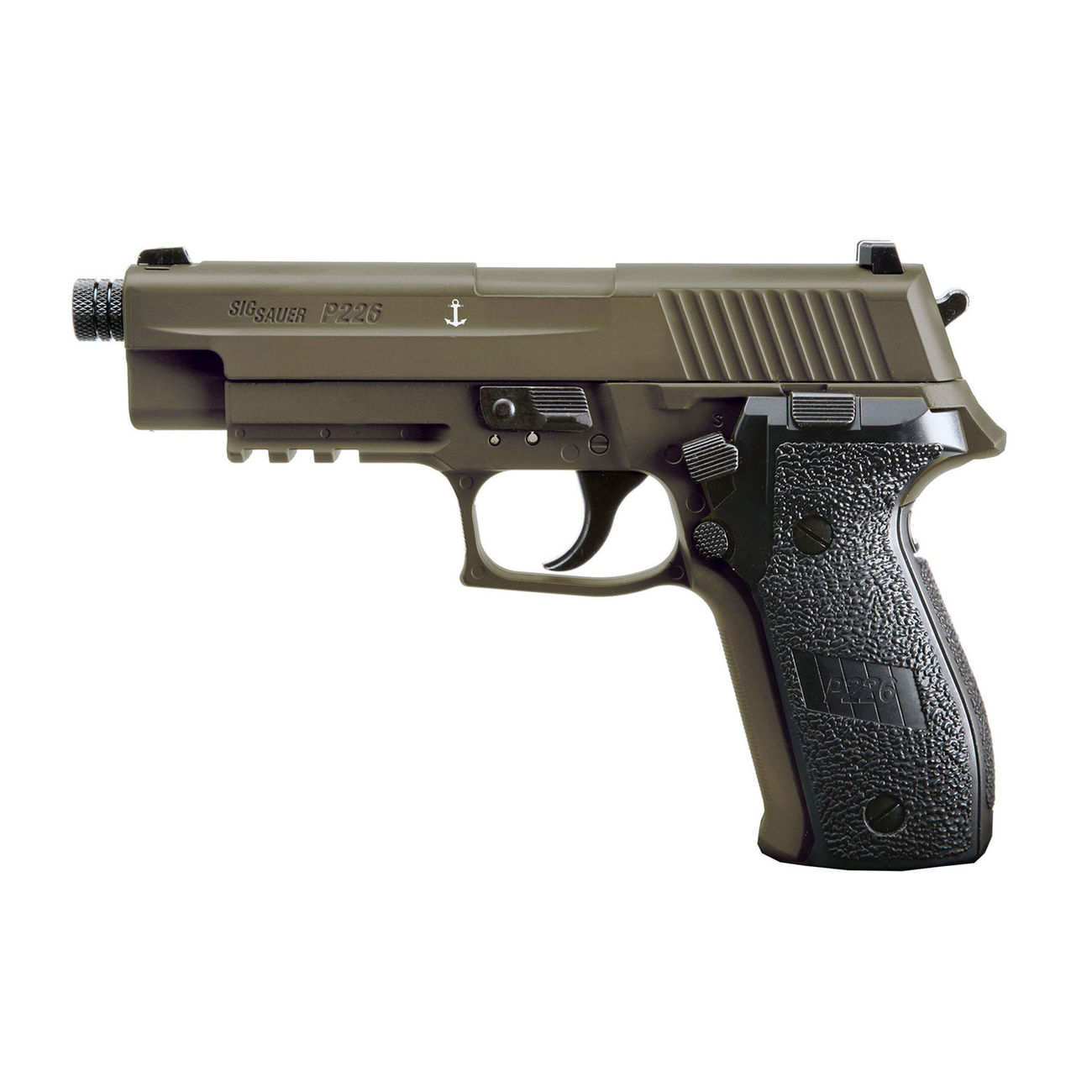 Sig Sauer P226 CO2 Luftpistole Kal. 4,5mm Diabolo BB Blow Back dark earth 0