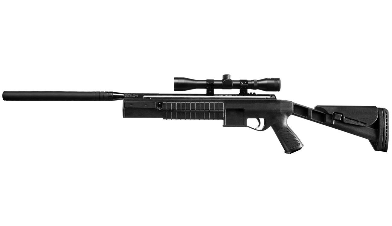 Webley spector knicklauf luftgewehr kal. 4 5mm mit schalldämpfer u