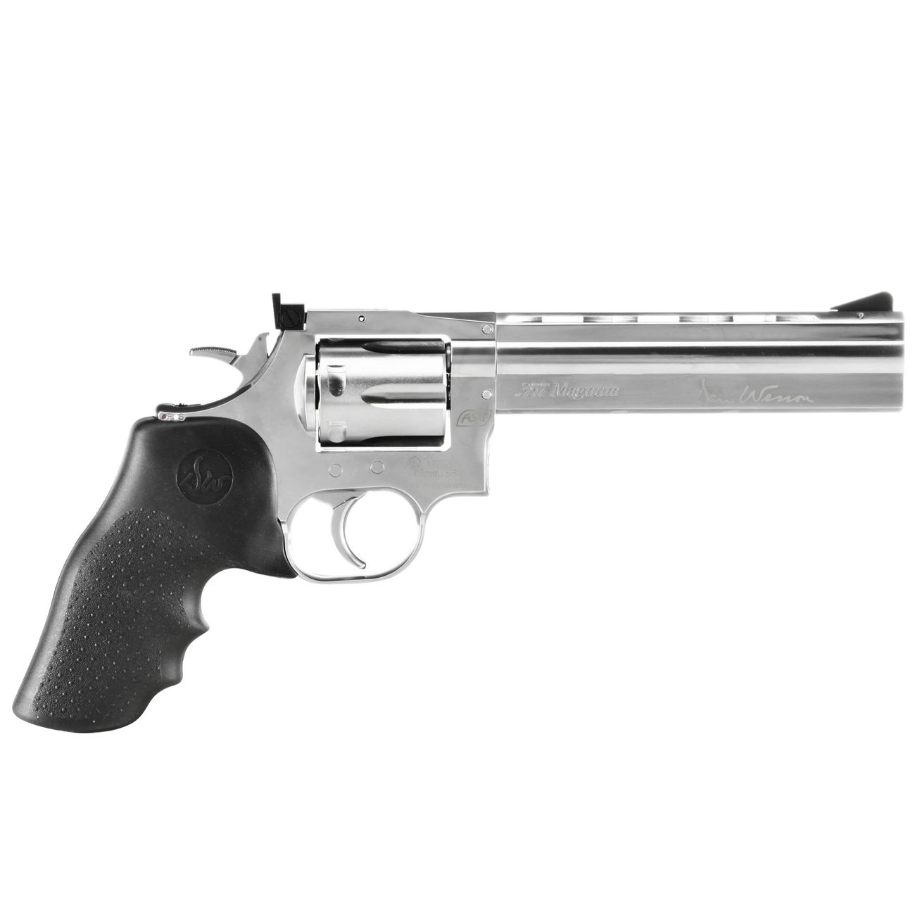 ASG Dan Wesson 715 CO2 Revolver 6 Zoll Kal. 4,5mm BB Starterset 2