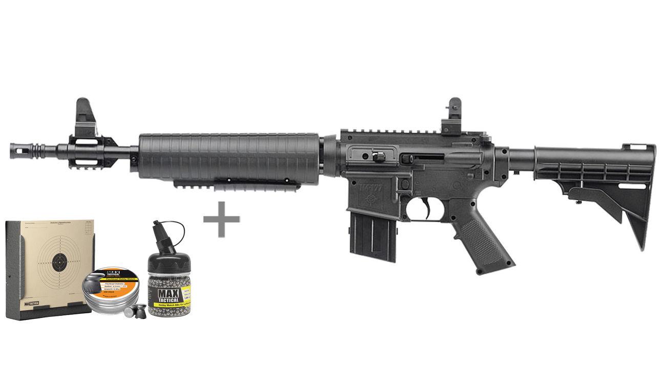 crosman m4-177 pump-luftgewehr 4 5mm diabolo bb schwarz