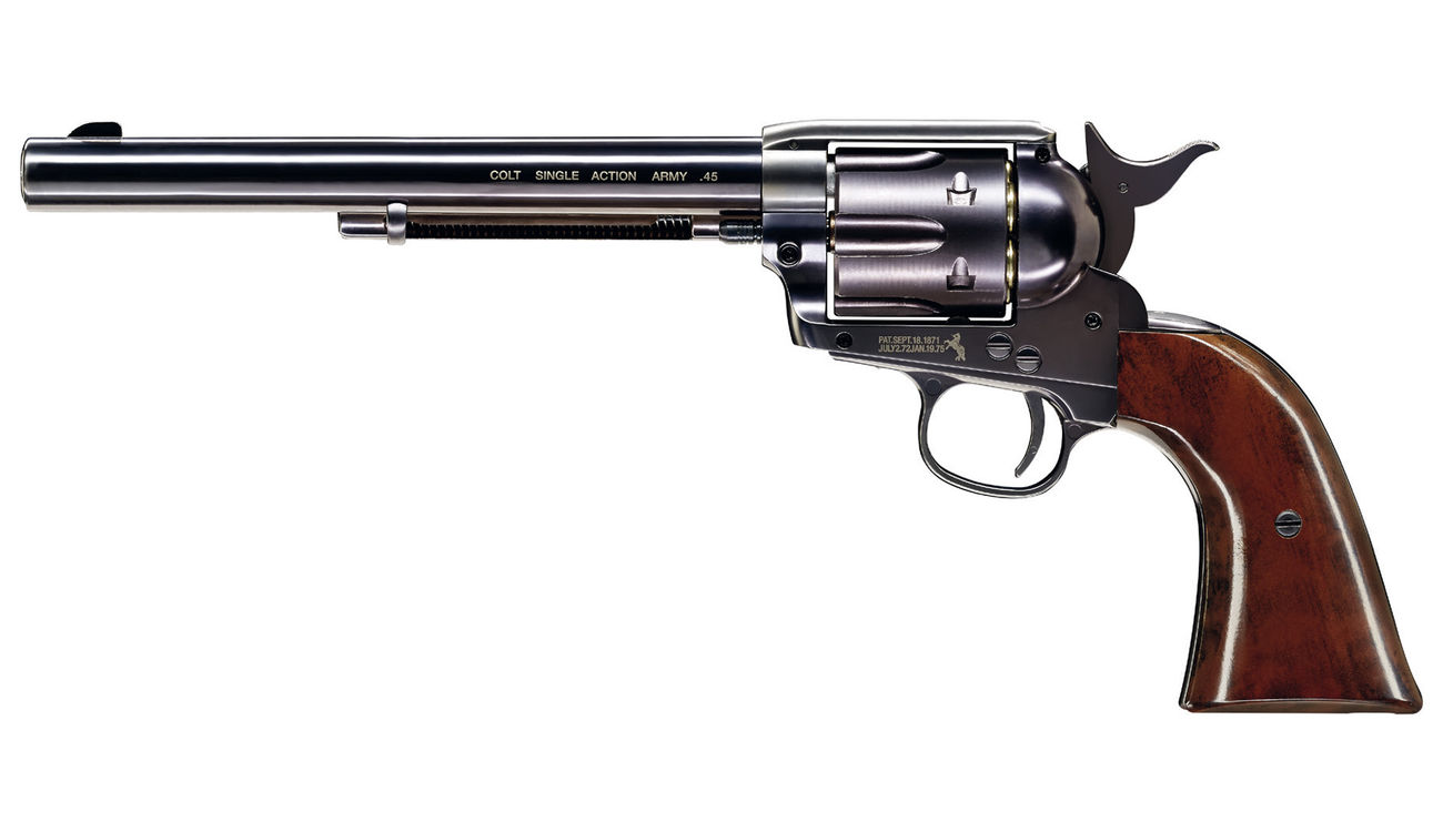 Colt Single Action Army 45 Co2-Revolver blue 7,5 Zoll Lauflänge Kal. 4,5 mm BB 0