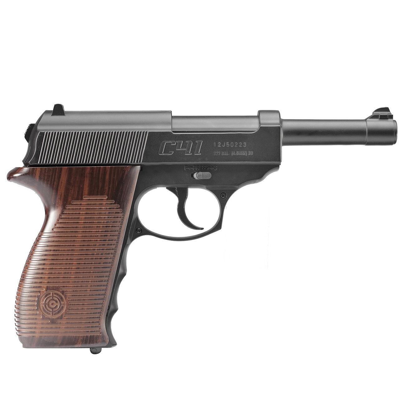 crosman c41 co2 pistole 4 5mm bb komplettset deluxe g nstig kaufen kotte zeller. Black Bedroom Furniture Sets. Home Design Ideas