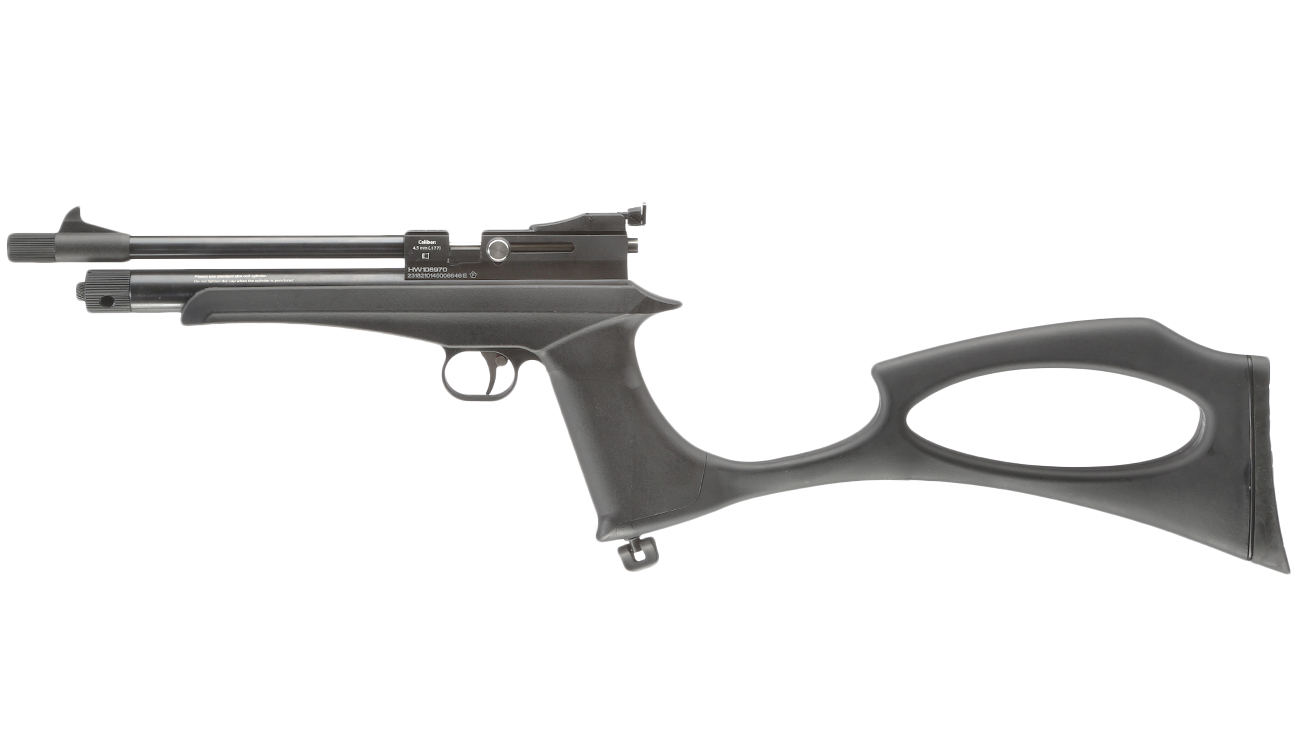 Diana Chaser Rifle Umbaukit CO2-Luftgewehr Kal. 4,5 mm Diabolo inkl. Diana Futteral 11
