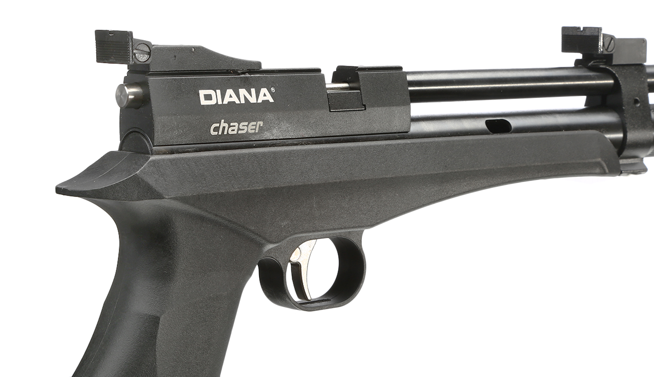 Diana Chaser Rifle Umbaukit CO2-Luftgewehr Kal. 4,5 mm Diabolo inkl. Diana Futteral 8