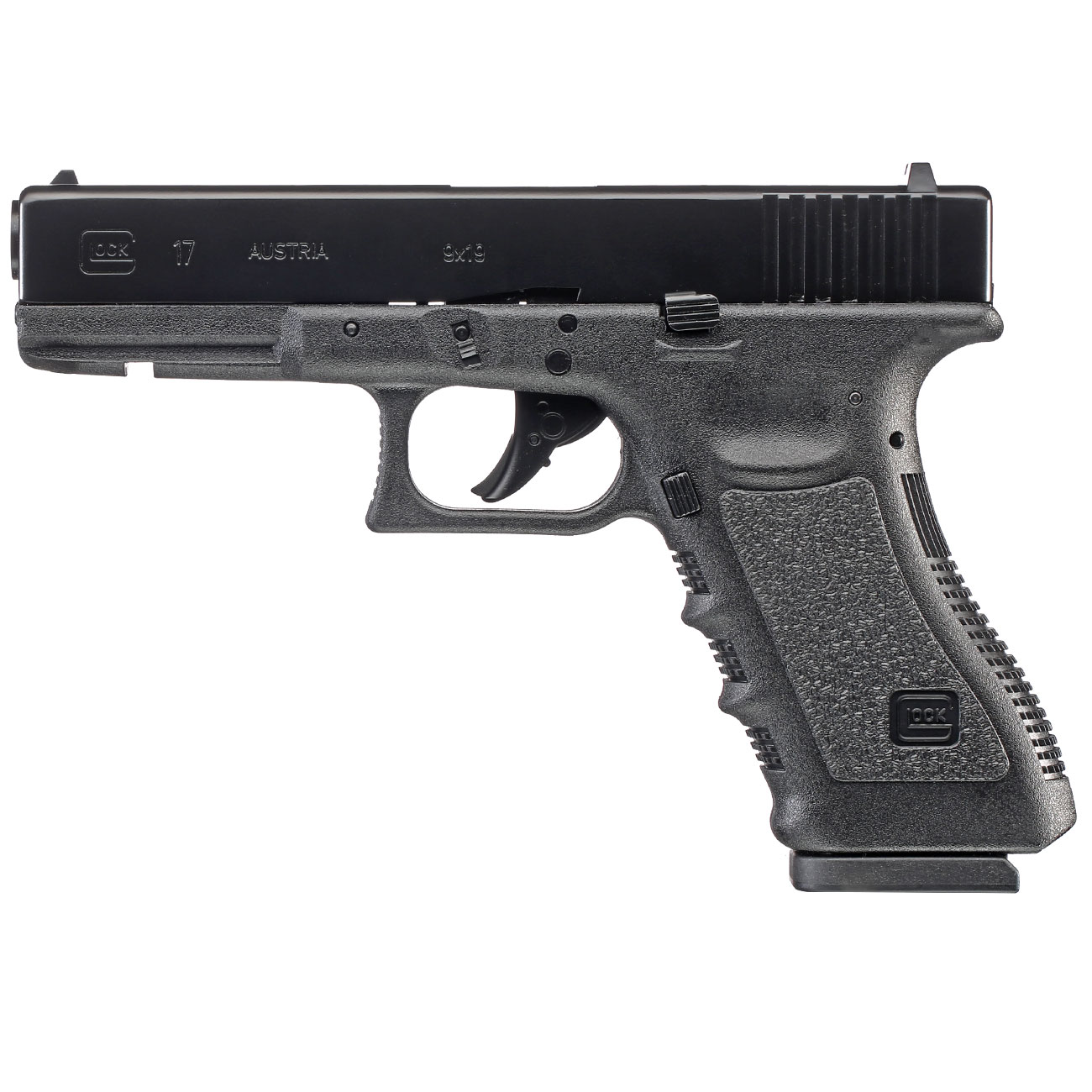 Glock 17 CO2 Luftpistole Kal. 4,5 mm BB 0