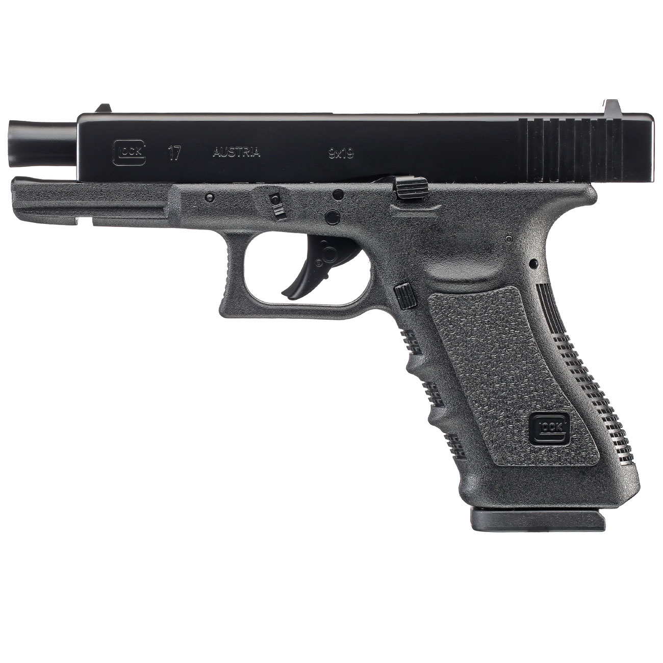 Glock 17 CO2 Luftpistole Kal. 4,5 mm BB 1