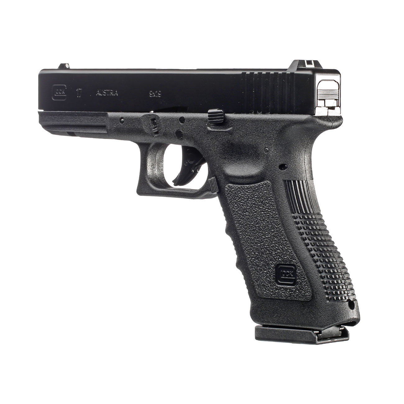 Glock 17 CO2 Luftpistole Kal. 4,5 mm BB 3