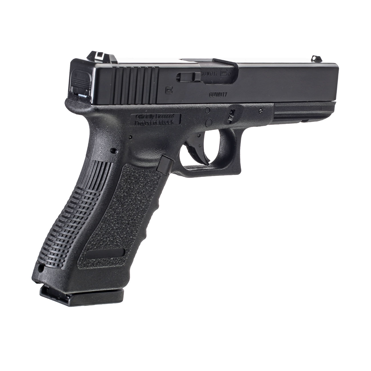 Glock 17 CO2 Luftpistole Kal. 4,5 mm BB 4