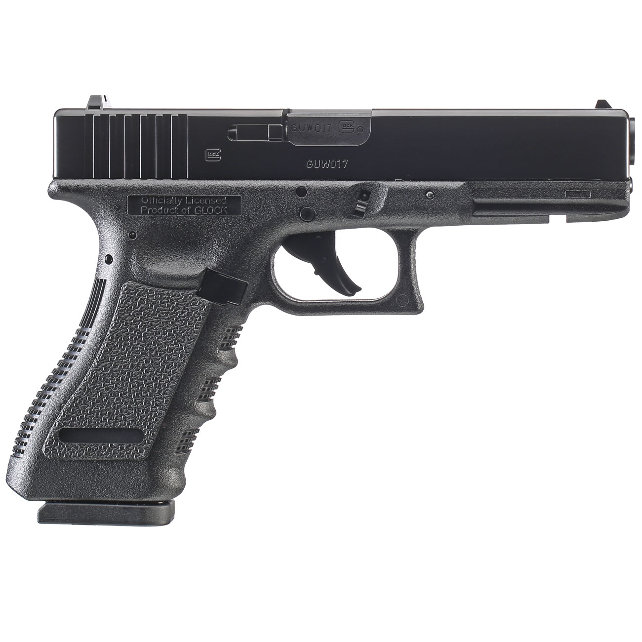 Glock 17 CO2 Luftpistole Kal. 4,5 mm BB 5