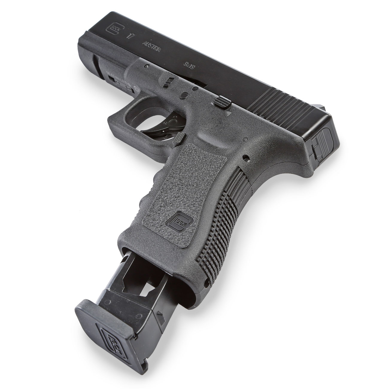 Glock 17 CO2 Luftpistole Kal. 4,5 mm BB 7