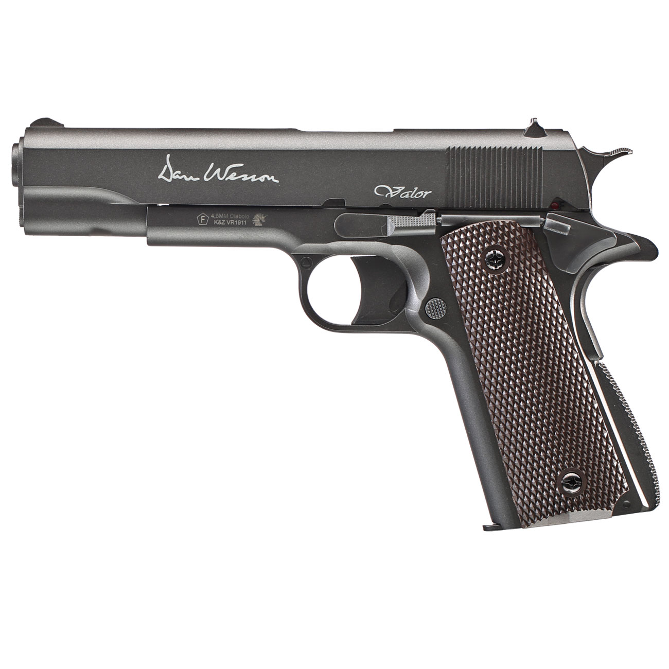 Dan Wesson Valor 1911 CO2-Luftpistole Kal. 4,5mm Diabolo Non-Blowback 0