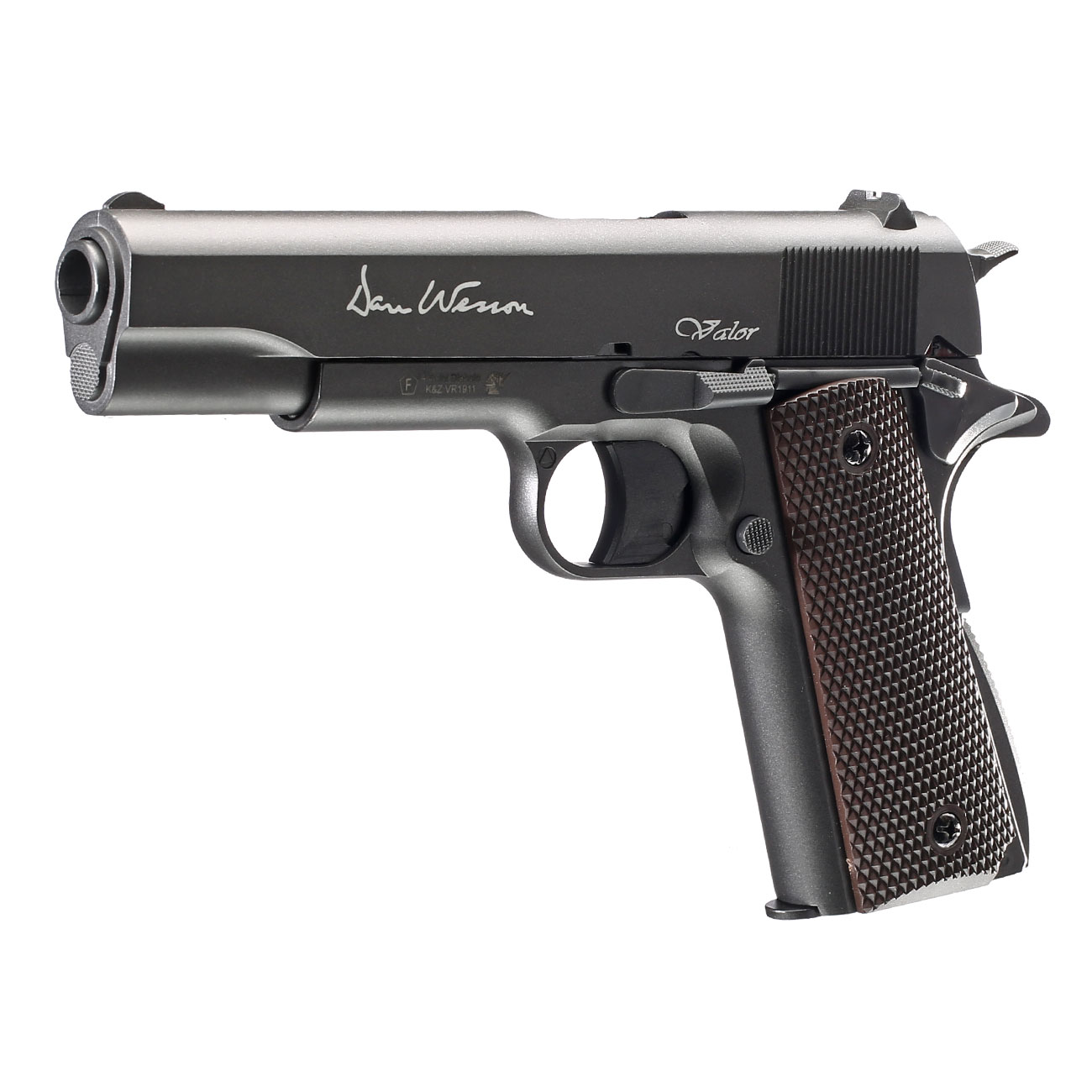 Dan Wesson Valor 1911 CO2-Luftpistole Kal. 4,5mm Diabolo Non-Blowback 1