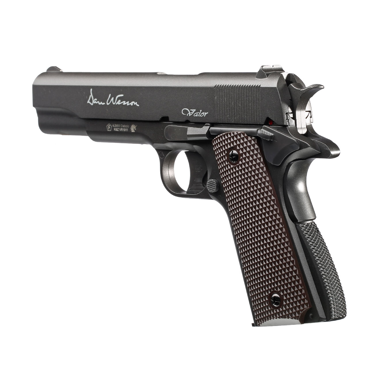 Dan Wesson Valor 1911 CO2-Luftpistole Kal. 4,5mm Diabolo Non-Blowback 2