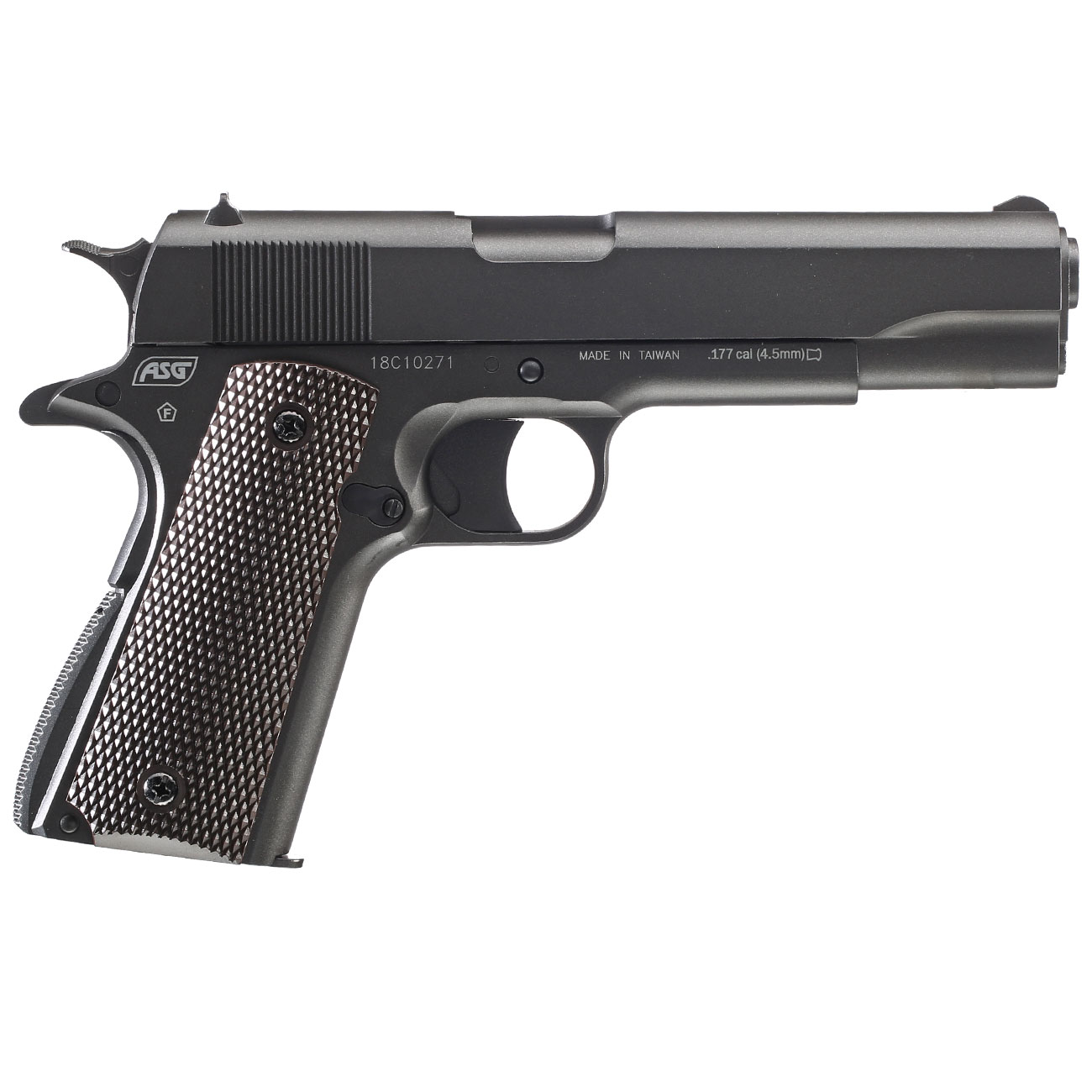 Dan Wesson Valor 1911 CO2-Luftpistole Kal. 4,5mm Diabolo Non-Blowback 3