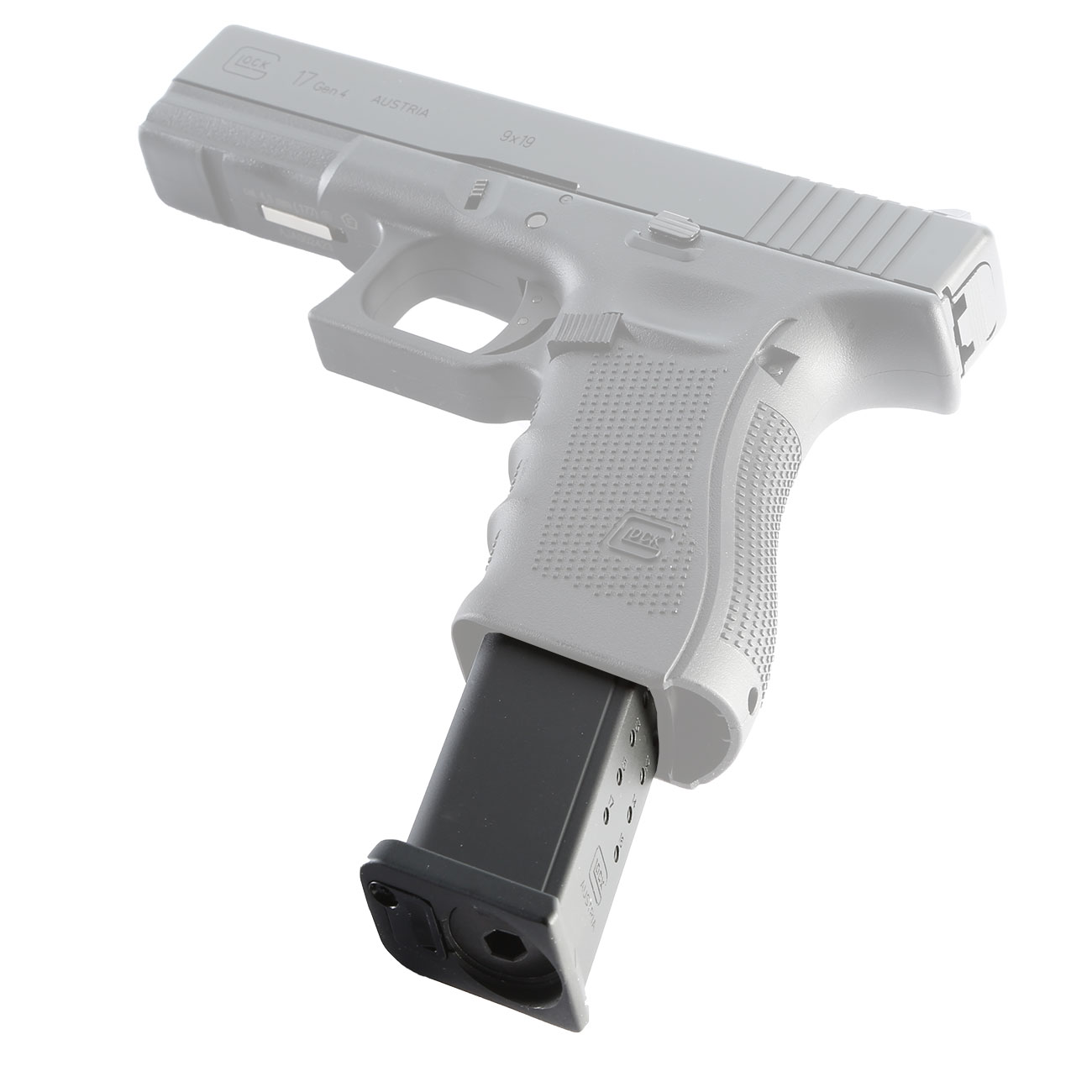 Luftpistole mit magazin