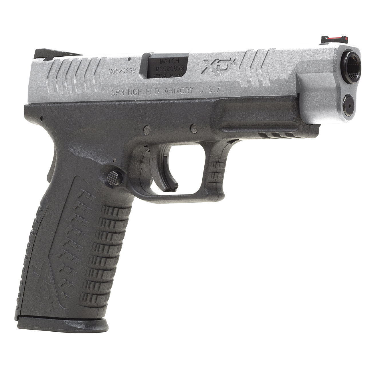 Springfield XDM CO2-Luftpistole 4,5mm BB Blowback Bicolor 0
