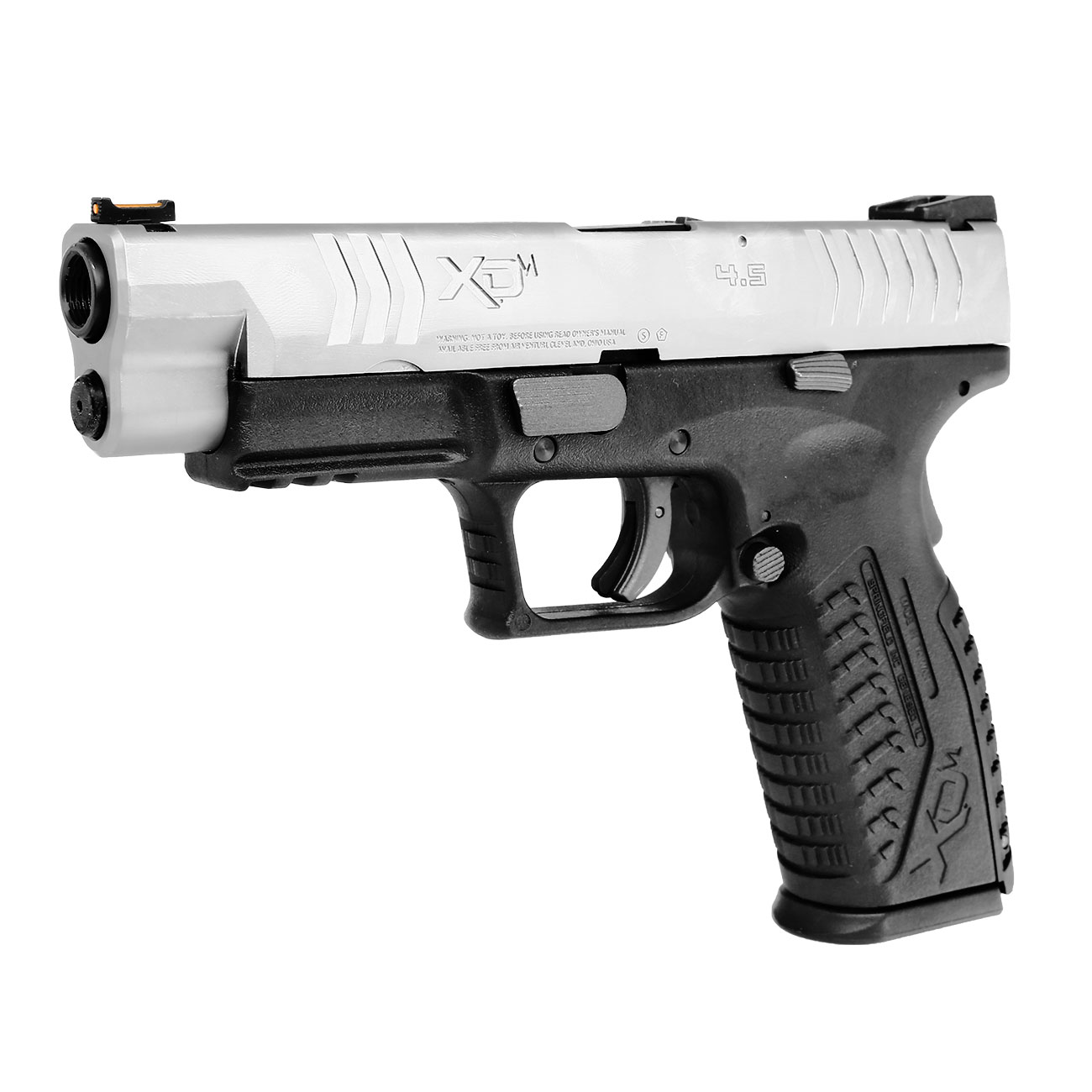 Springfield XDM CO2-Luftpistole 4,5mm BB Blowback Bicolor 1