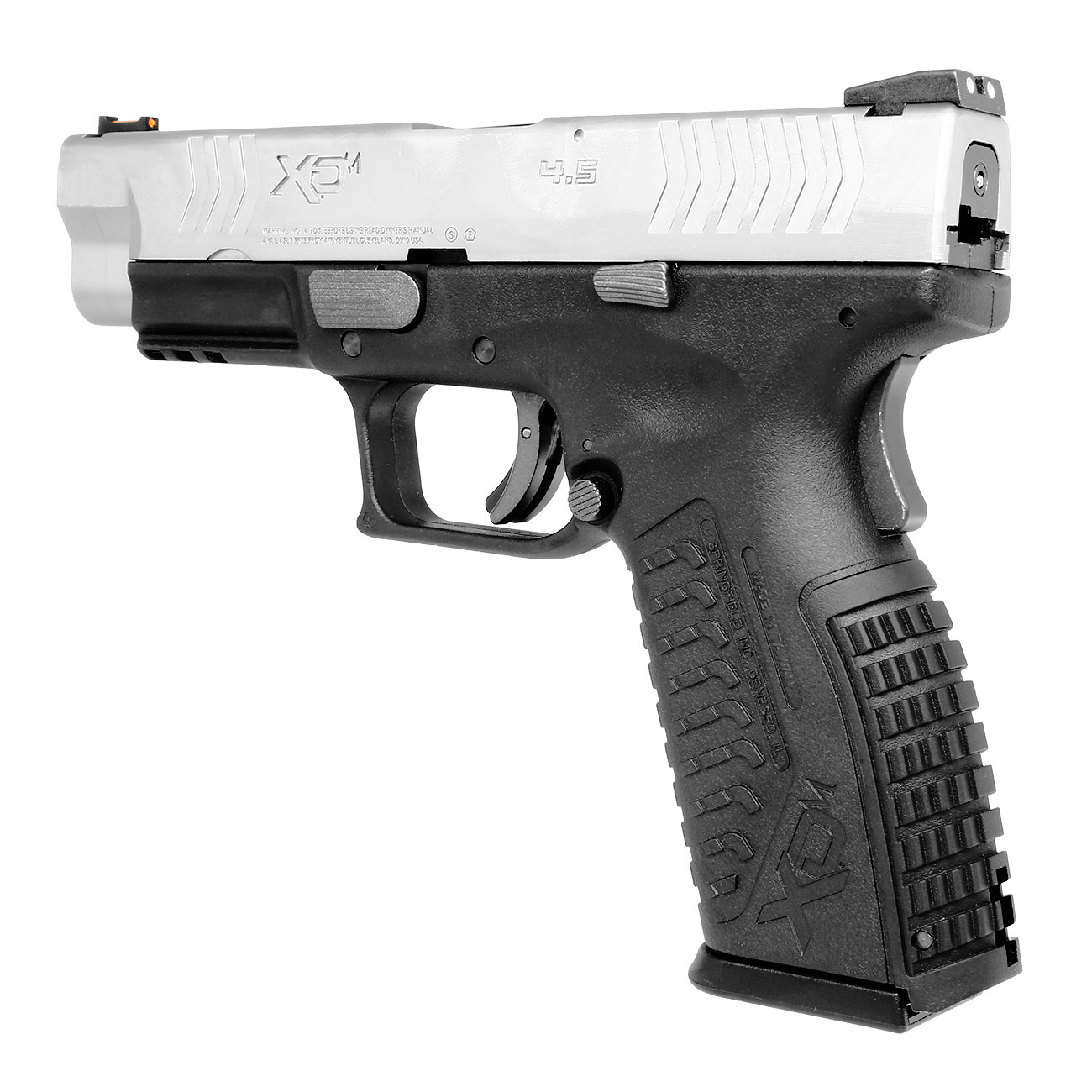 Springfield XDM CO2-Luftpistole 4,5mm BB Blowback Bicolor 2