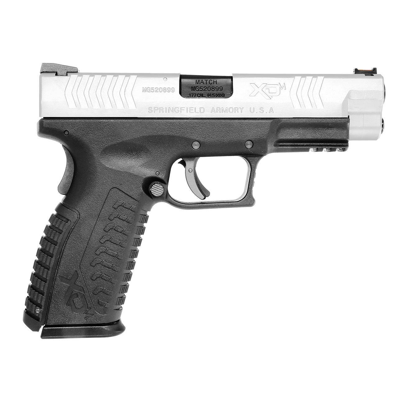 Springfield XDM CO2-Luftpistole 4,5mm BB Blowback Bicolor 3
