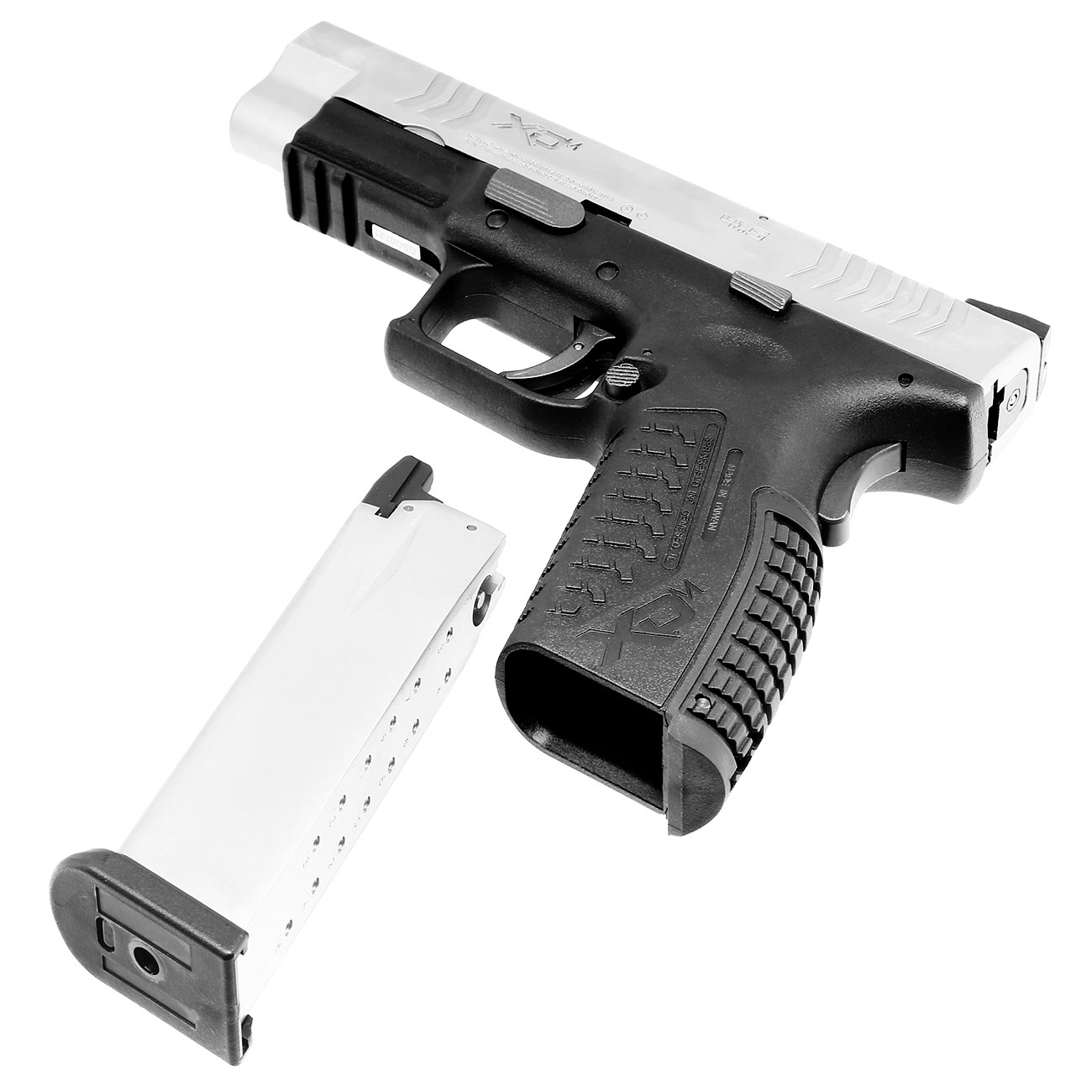 Springfield XDM CO2-Luftpistole 4,5mm BB Blowback Bicolor 4