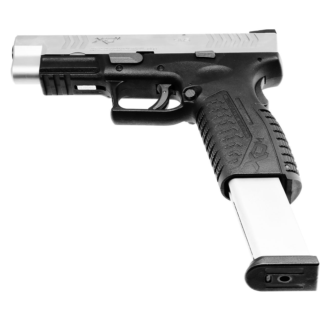 Springfield XDM CO2-Luftpistole 4,5mm BB Blowback Bicolor 5