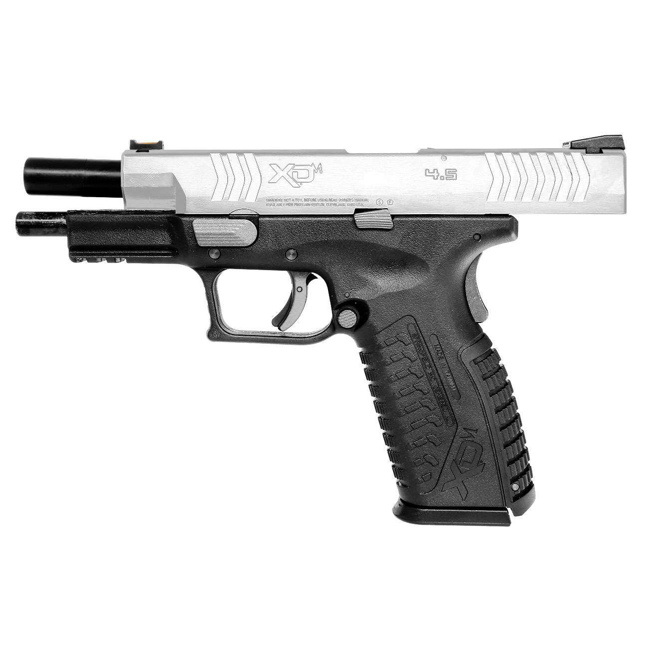 Springfield XDM CO2-Luftpistole 4,5mm BB Blowback Bicolor 7