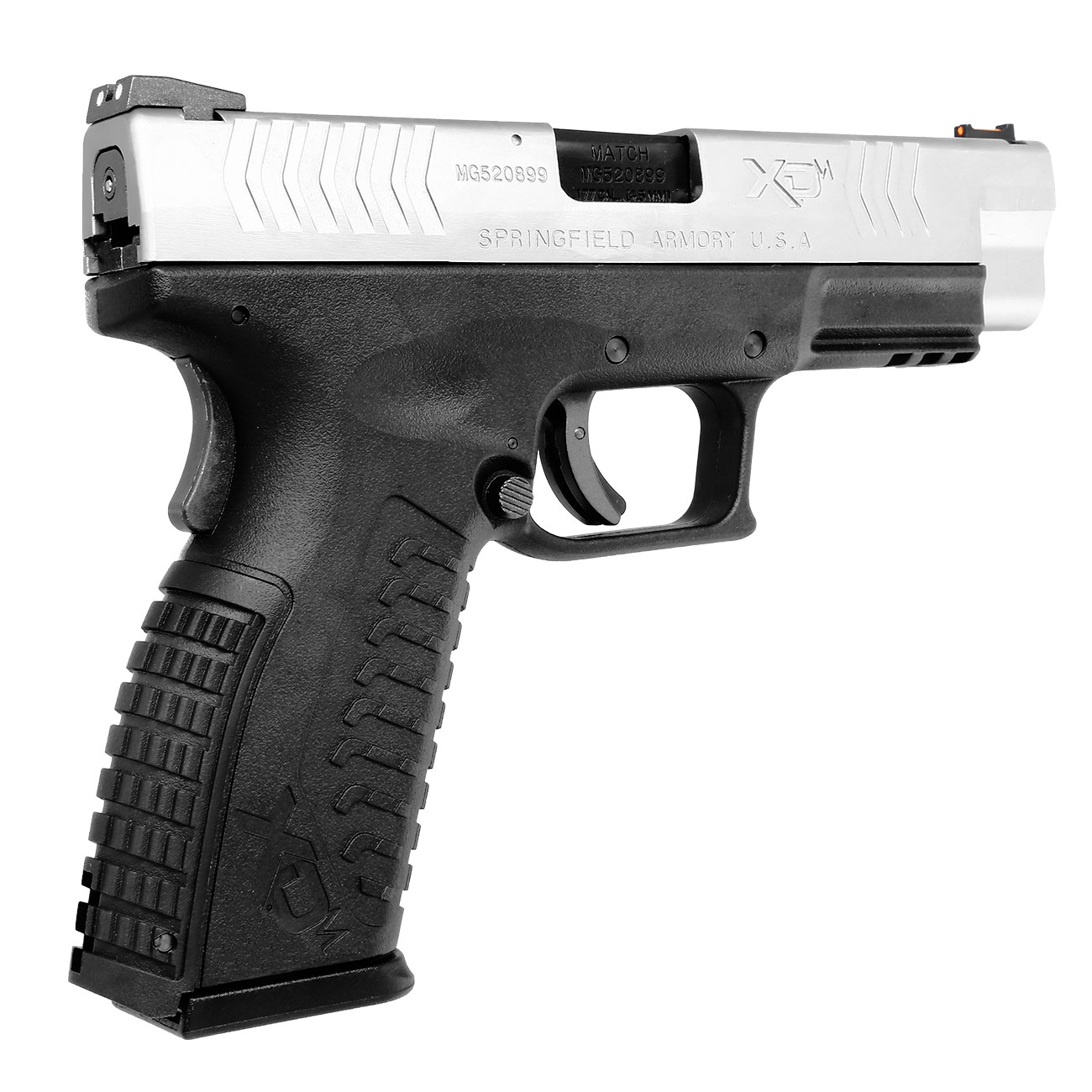Springfield XDM CO2-Luftpistole 4,5mm BB Blowback Bicolor 8
