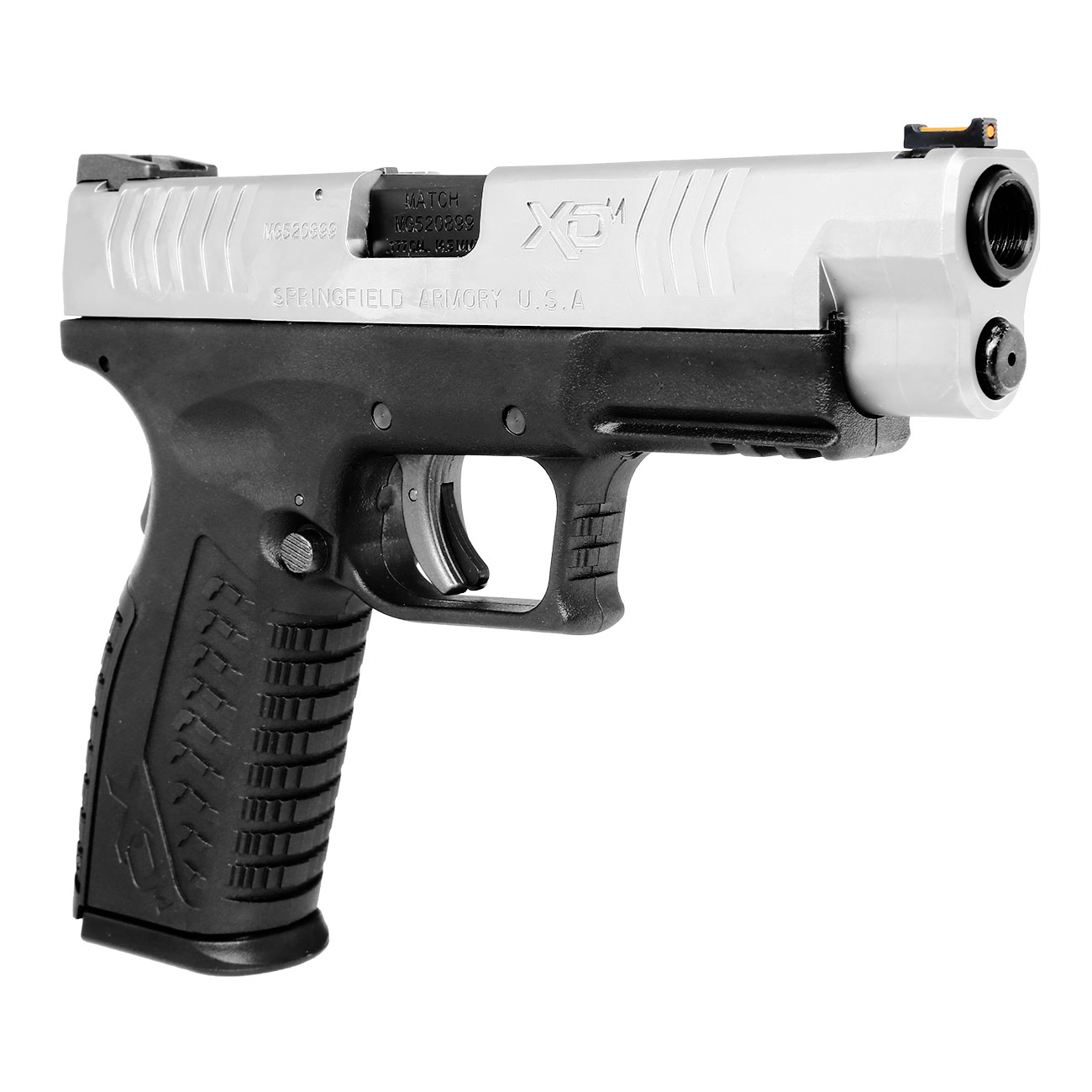 Springfield XDM CO2-Luftpistole 4,5mm BB Blowback Bicolor 9