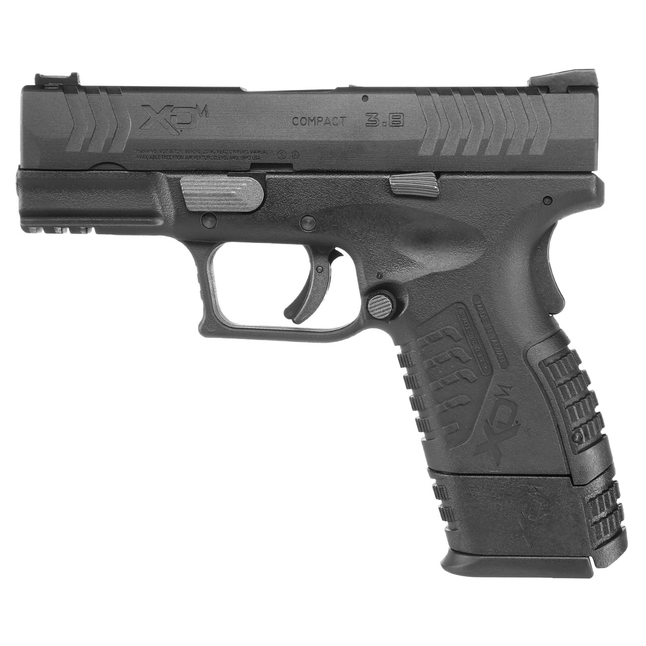Springfield XDM Compact CO2-Luftpistole 4,5mm BB Blowback 0
