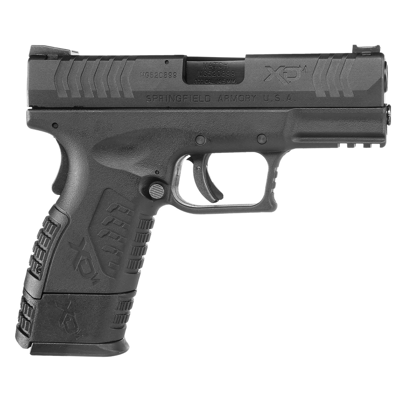 Springfield XDM Compact CO2-Luftpistole 4,5mm BB Blowback 3