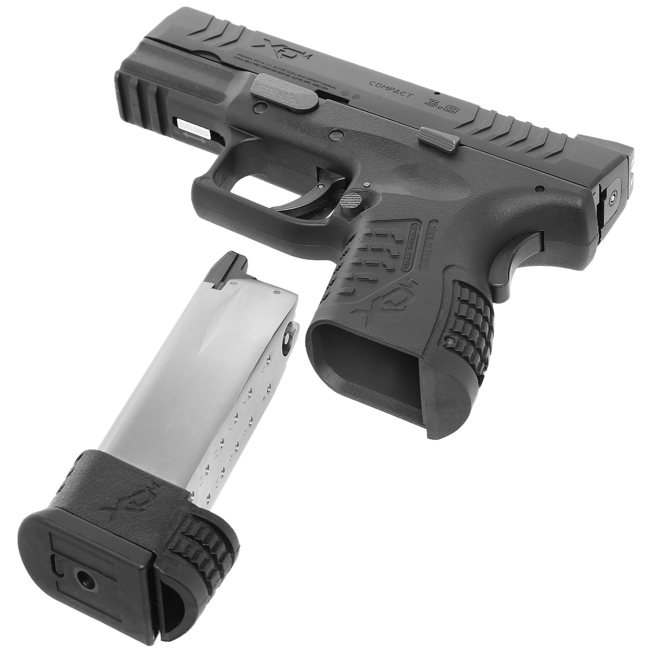 Springfield XDM Compact CO2-Luftpistole 4,5mm BB Blowback 4